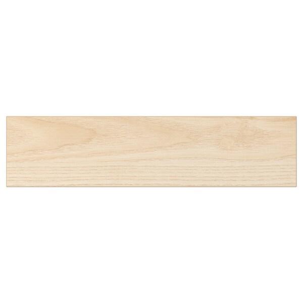 ASKERSUND Bahagian hadapan laci, kesan kayu ash muda, 40x10 cm