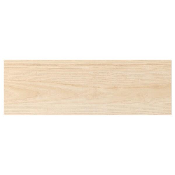 ASKERSUND Bahagian hadapan laci, kesan kayu ash muda, 60x20 cm