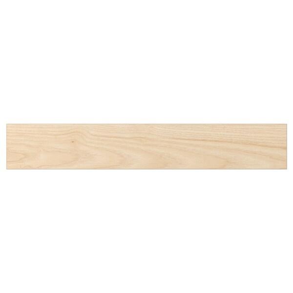ASKERSUND Bahagian hadapan laci, kesan kayu ash muda, 60x10 cm