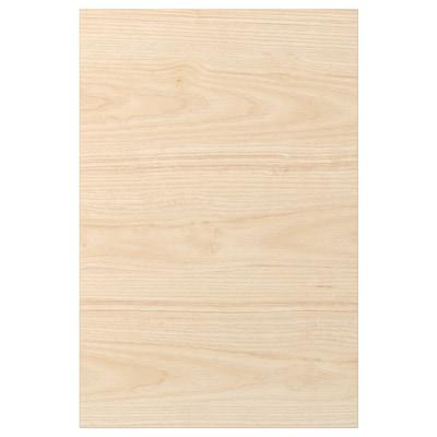 ASKERSUND Pintu, kesan kayu ash muda, 40x60 cm