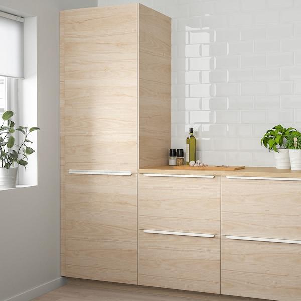 ASKERSUND Pintu, kesan kayu ash muda, 60x40 cm