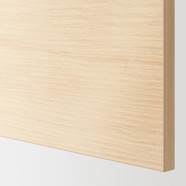 ASKERSUND Sarung panel, kesan kayu ash muda, 62x80 cm