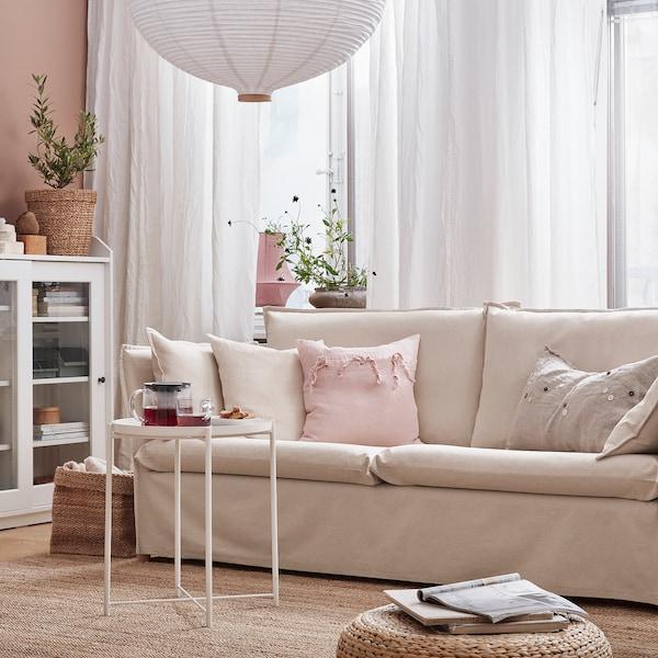 BACKSÄLEN Sofa 3 tempat duduk, Katorp asli