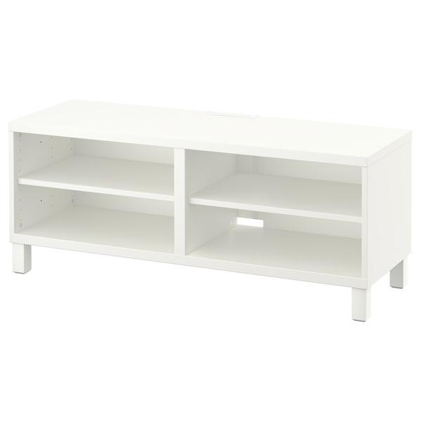 BESTÅ Kabinet TV, putih, 120x40x48 cm