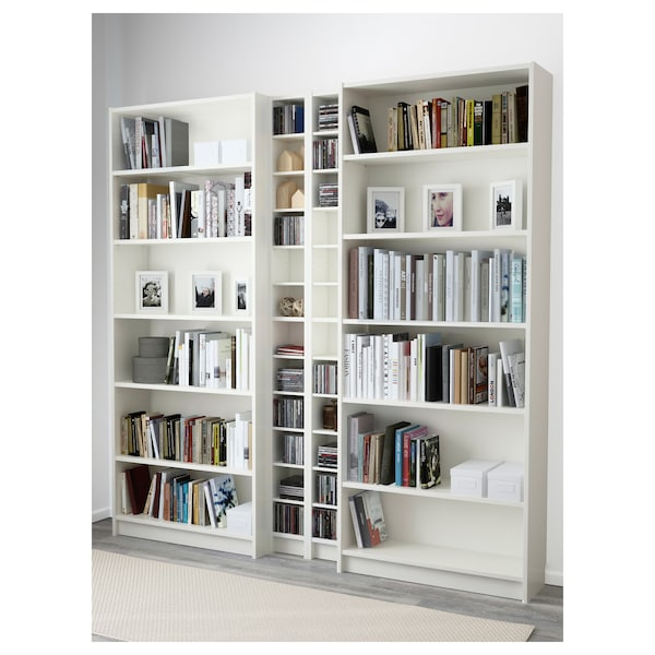 Billy Rak Buku Putih Ikea