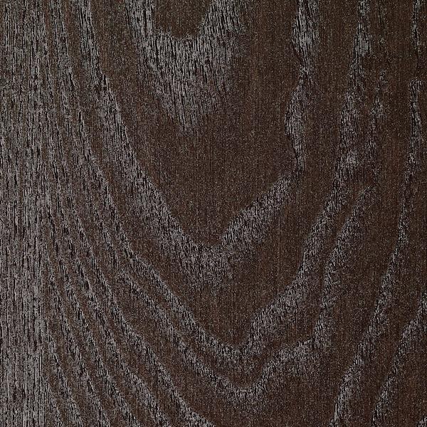 BILLY Rak buku, hitam coklat, 80x28x202 cm