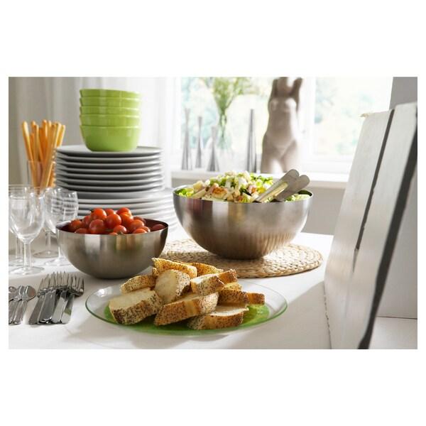 BLANDA BLANK Mangkuk hidangan, keluli tahan karat, 20 cm