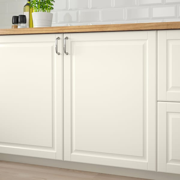 BODBYN Pintu, putih pudar, 30x60 cm