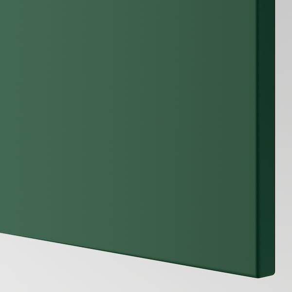 BODBYN Sarung panel, hijau gelap, 62x220 cm