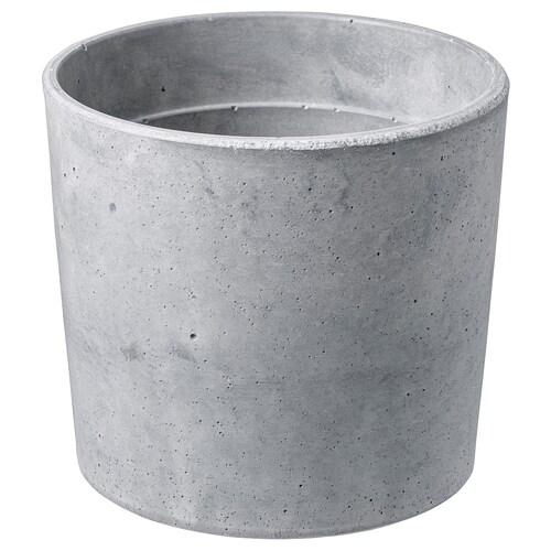 BOYSENBÄR pasu dalam/luar  kelabu muda 13 cm 14 cm 12 cm 13 cm
