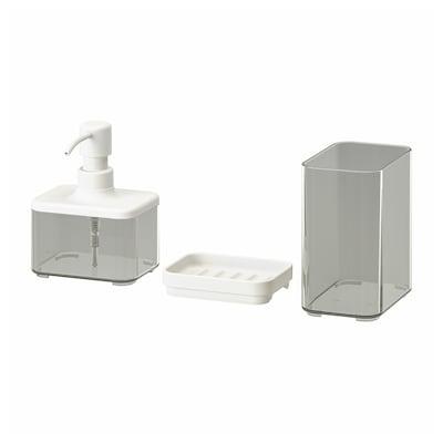 BROGRUND Set 3 unit perkakas bilik mandi