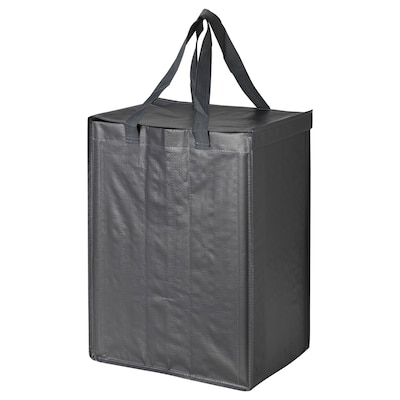 DIMPA Beg mengasing sampah, kelabu gelap