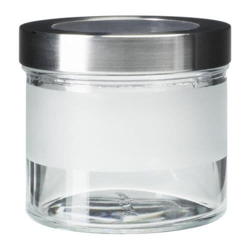 IKEA Glass Jars with Lids