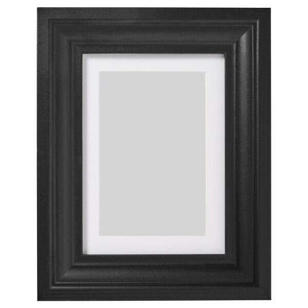 EDSBRUK Bingkai, perwarna hitam, 13x18 cm