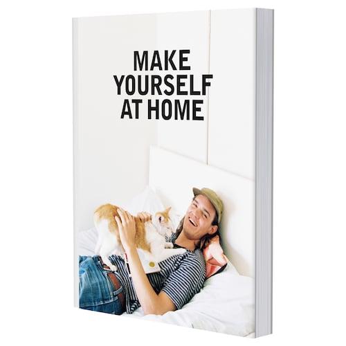 EKEBOL buku Make yourself at home 128 keping 21.8 cm 28.5 cm