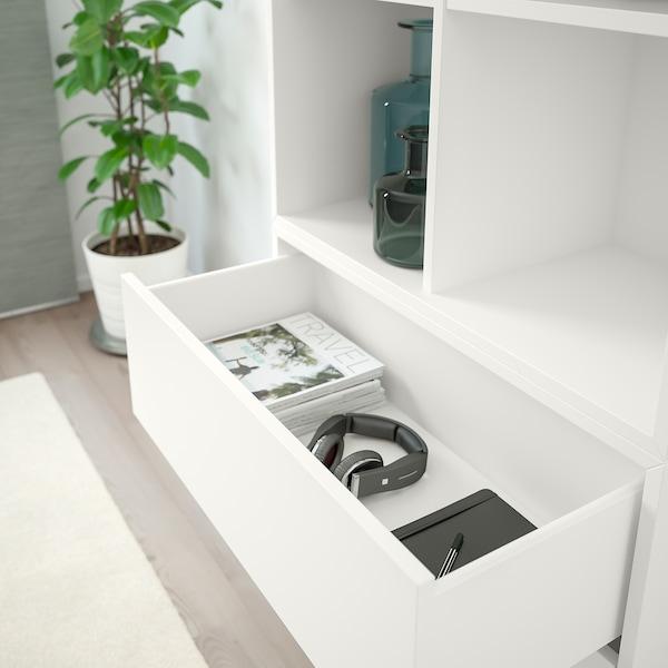 EKET kombinasi kabinet berkaki putih 70 cm 70 cm 35 cm 212 cm