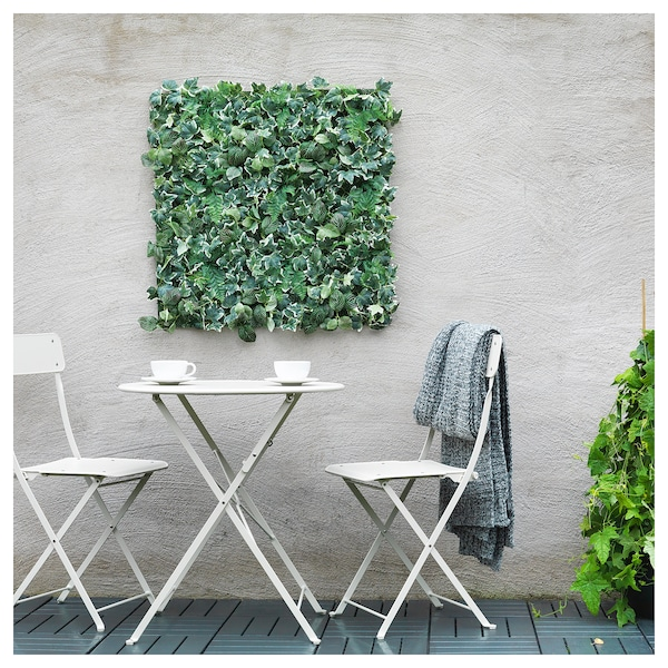 FEJKA Pokok tiruan, dipasang pada dinding/dalam/luar  hijau, 26x26 cm