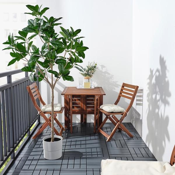 FEJKA Tumbuhan tiruan berpasu, dalam/luar  Magnolia, 23 cm