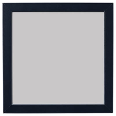 FISKBO Bingkai, biru gelap, 21x21 cm