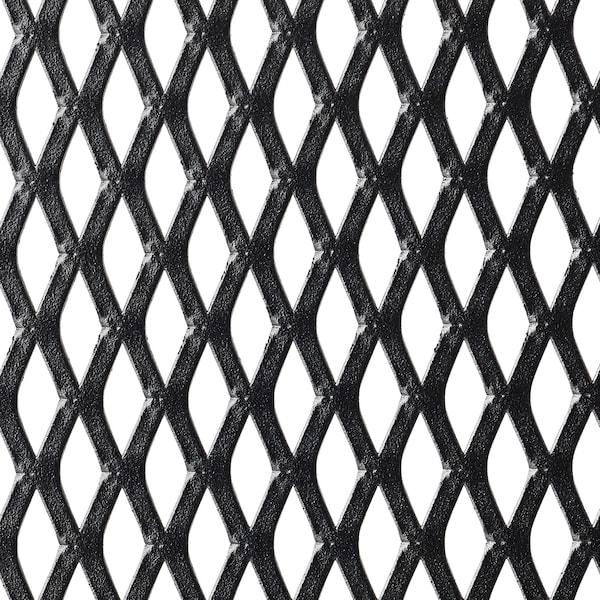 FJÄLLBO Unit rak, hitam, 51x136 cm