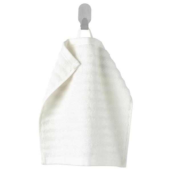 FLODALEN Tuala kecil, putih, 30x30 cm