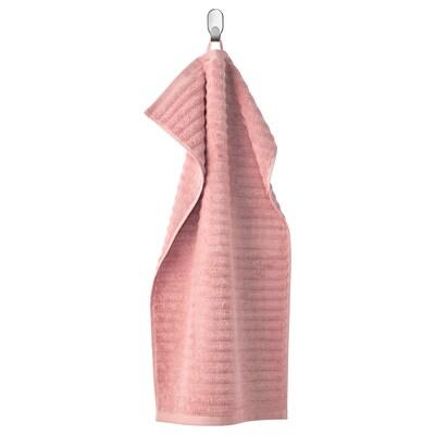 FLODALEN Tuala tangan, merah jambu lembut, 40x70 cm