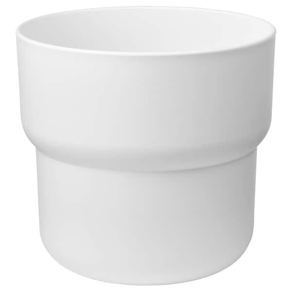 FÖRENLIG Pasu, dalam/luar  putih, 24 cm