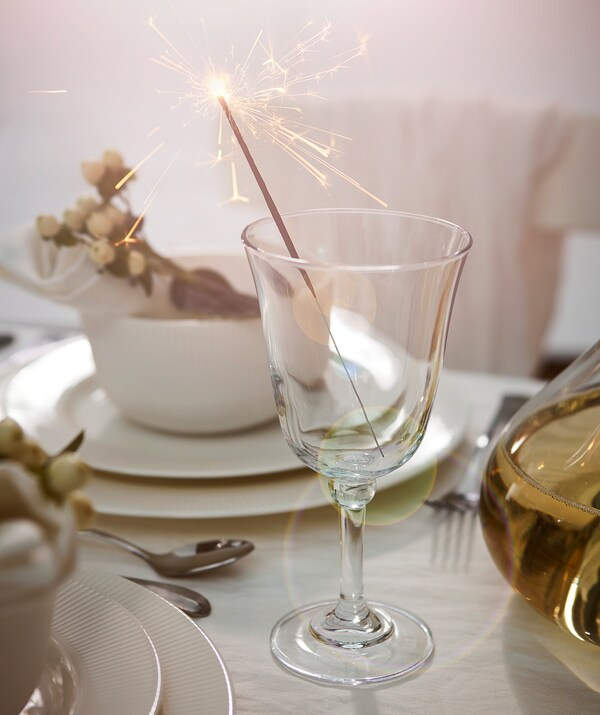 FRAMTRÄDA Gelas, kaca jernih, 30 cl