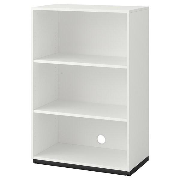 GALANT Unit rak, putih, 80x120 cm