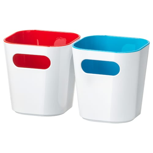 GESSAN kotak putih 9.7 cm 9.7 cm 10.3 cm 2 unit