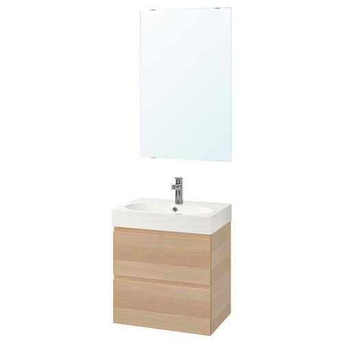 GODMORGON / BRÅVIKEN set 4 unit perabot bilik mandi