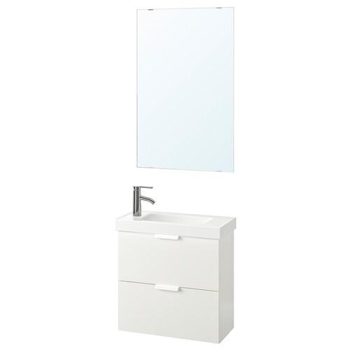 GODMORGON / HAGAVIKEN set 4 unit perabot bilik mandi
