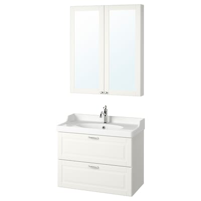 GODMORGON / RÄTTVIKEN Set 4 unit perabot bilik mandi