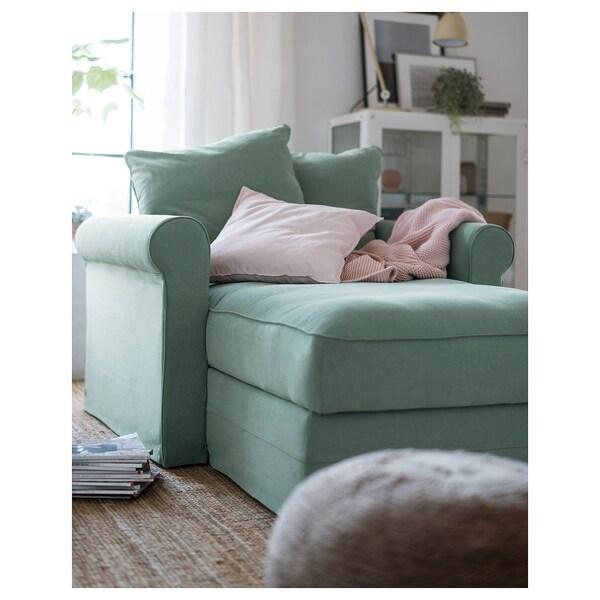 GRÖNLID 'chaise longue', Ljungen hijau muda