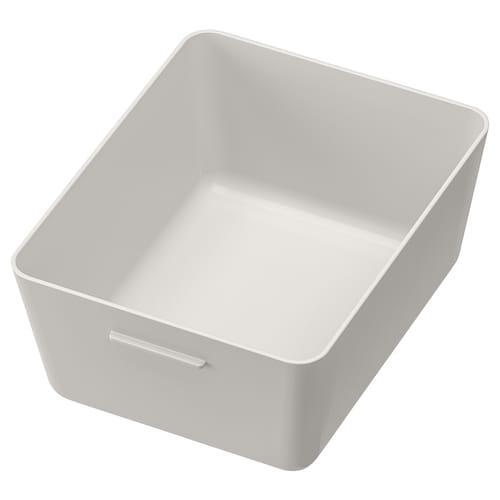 GRUNDVATTNET kotak kelabu 16.8 cm 13.7 cm 7.8 cm
