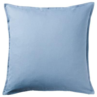 GURLI Sarung kusyen, biru muda, 50x50 cm
