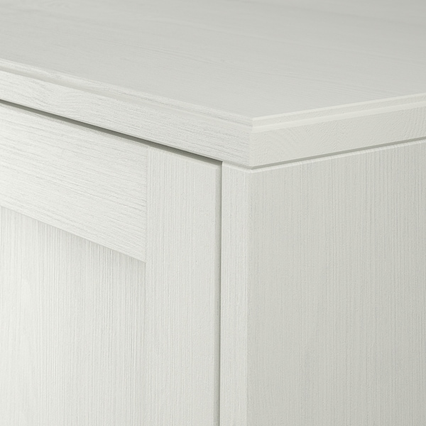 HAVSTA Kabinet dengan ketapak, putih, 81x47x89 cm