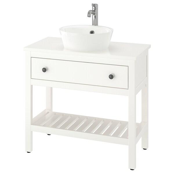 HEMNES / KATTEVIK Kabinet sink terbuka dengan 40 sink