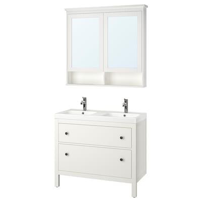 HEMNES / ODENSVIK Set 5 unit perabot bilik mandi