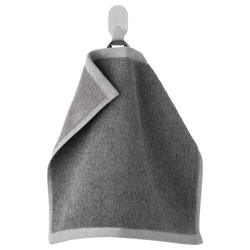 HIMLEÅN tuala kecil kelabu gelap/mélange 500 g/m² 30 cm 30 cm 0.09 m²