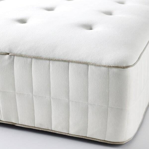 HOKKÅSEN Tilam spring poket, padat/putih, 150x200 cm