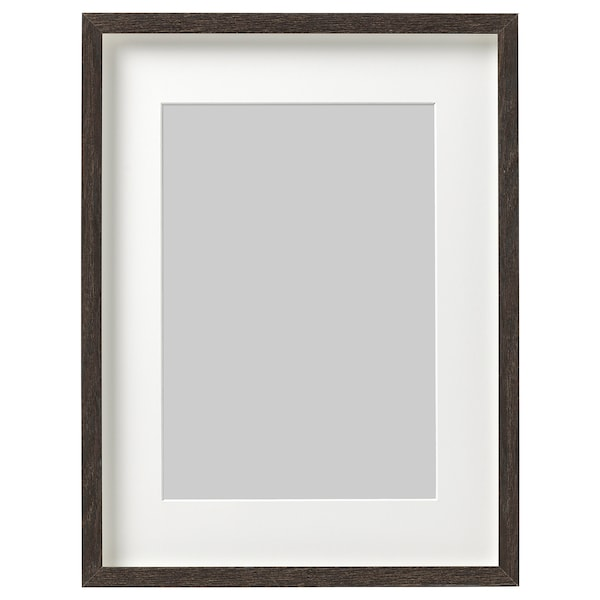 HOVSTA Bingkai, coklat gelap, 30x40 cm