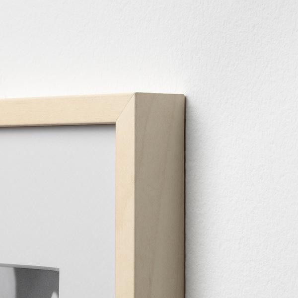 HOVSTA Bingkai, kesan kayu birch, 23x23 cm
