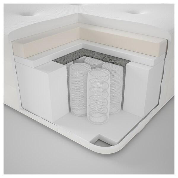 HYLLESTAD Tilam spring poket, padat/putih, 150x200 cm