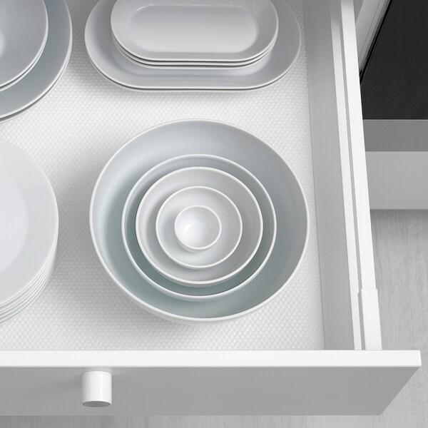 IKEA 365+ Mangkuk, sisi berbundar putih, 22 cm