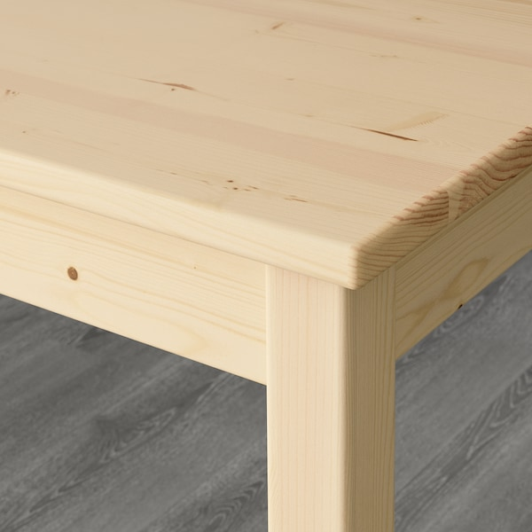 INGO Meja, kayu pain, 120x75 cm