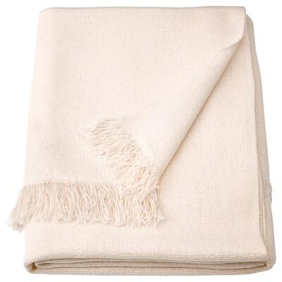INGRUN Selimut/alas, putih, 130x170 cm