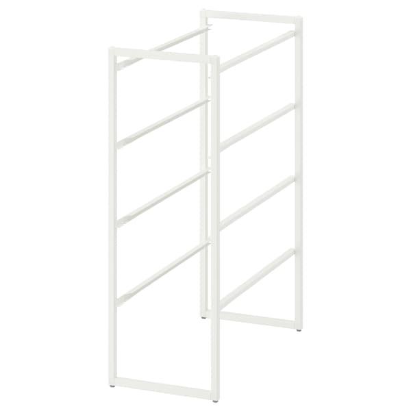 JONAXEL Rangka, putih, 25x51x70 cm