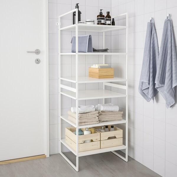 JONAXEL Unit rak, putih, 50x51x70 cm