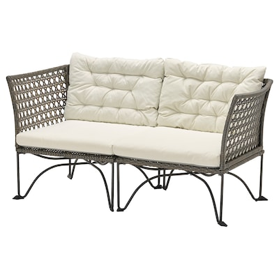 JUTHOLMEN Sofa modular 2 tempat duduk, luar